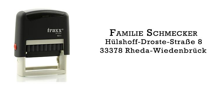 schwarze Tinte Diebstahlschutz und Privatsph/äre Identit/ätsdiebstahl-Stempel perfekt f/ür Privatsph/äre sichere Verdunklungssicherheit DERCLIVE 3 x Rollenstempel 3,8 cm